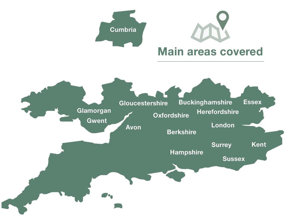 Sash Repair North London Map