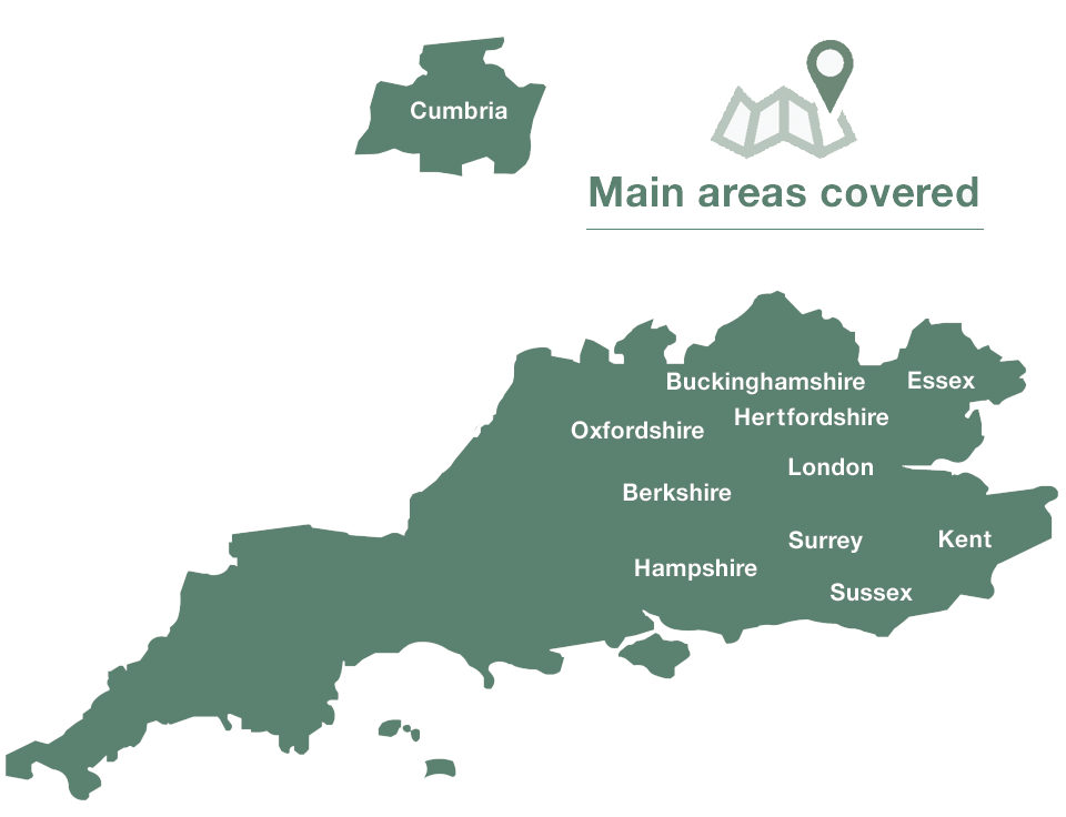Sash Repair South London Map