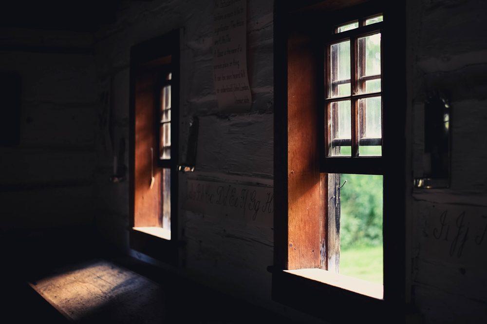 Open Sash Windows