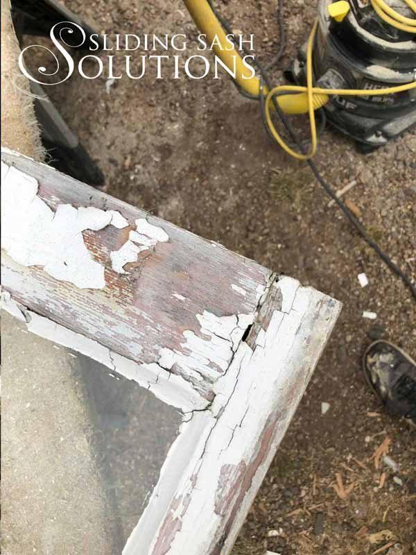 Bottom Sash Restoration