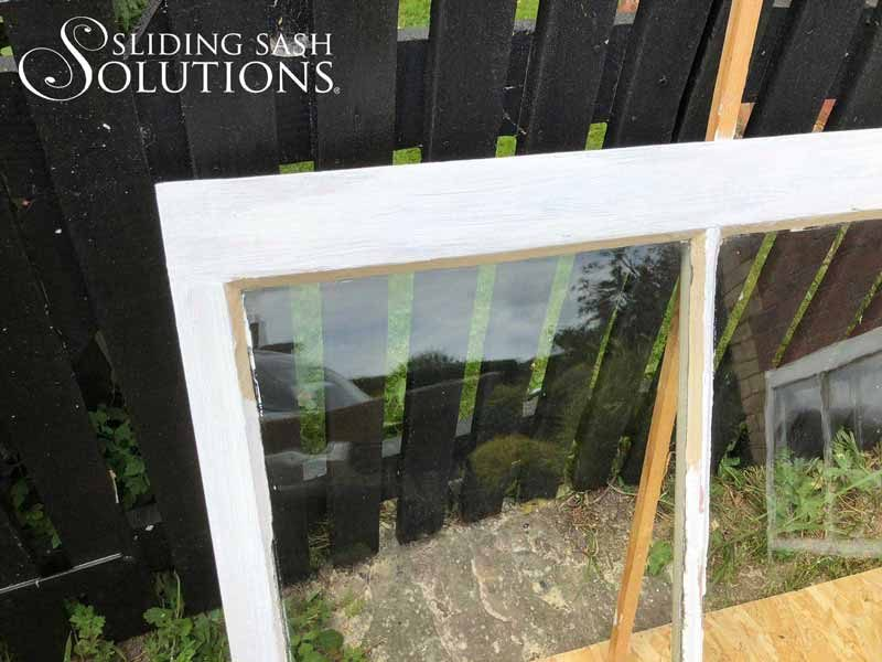 Bottom Sash Restoration