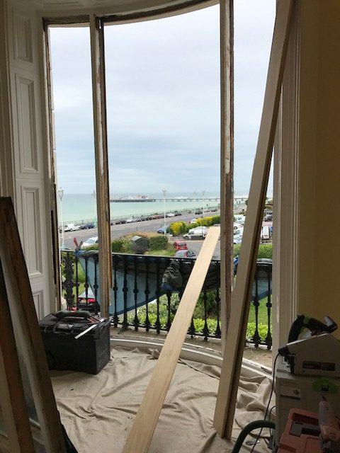 Bowed Window Repair