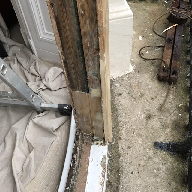 Bowed Window Repair