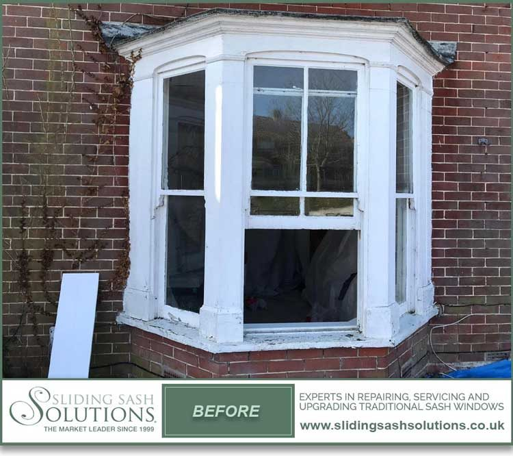 Portsmouth Bay Window Before