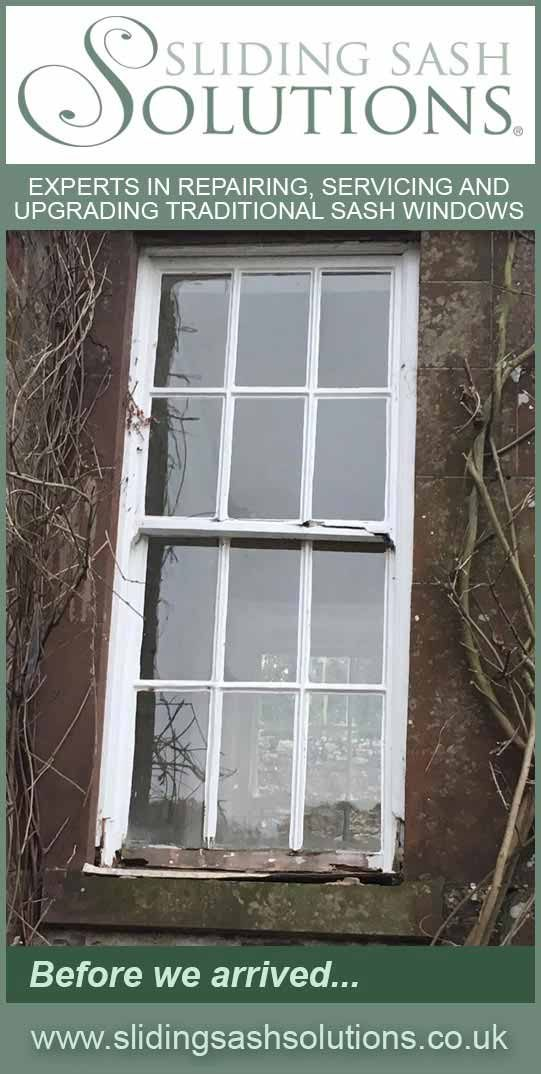 Window in the Wye Valley - Before