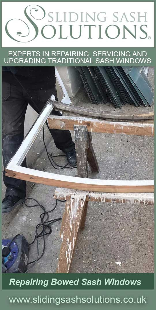 Bowed Sash Window Repairs