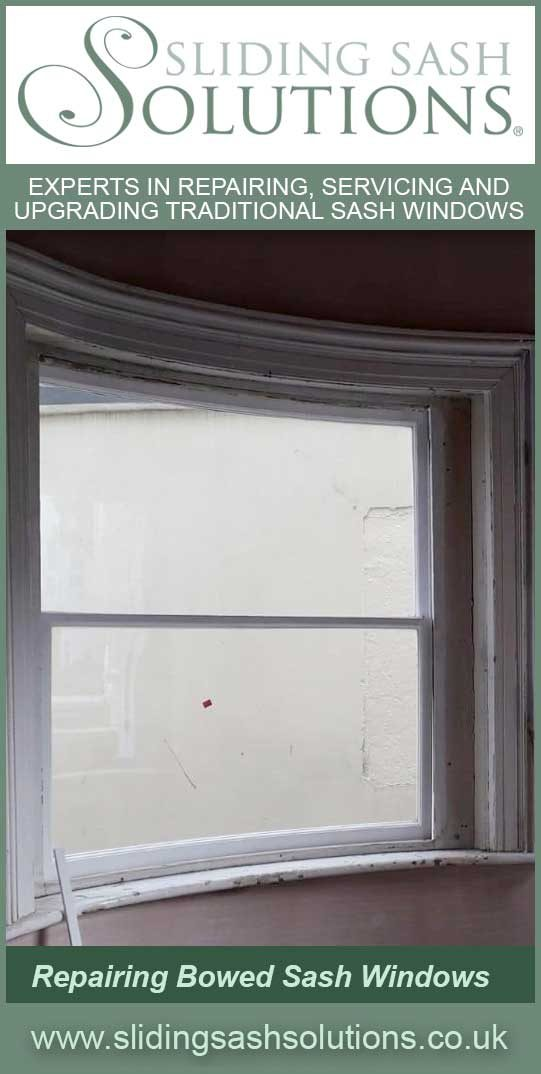 Bowed Sash Window Repairs