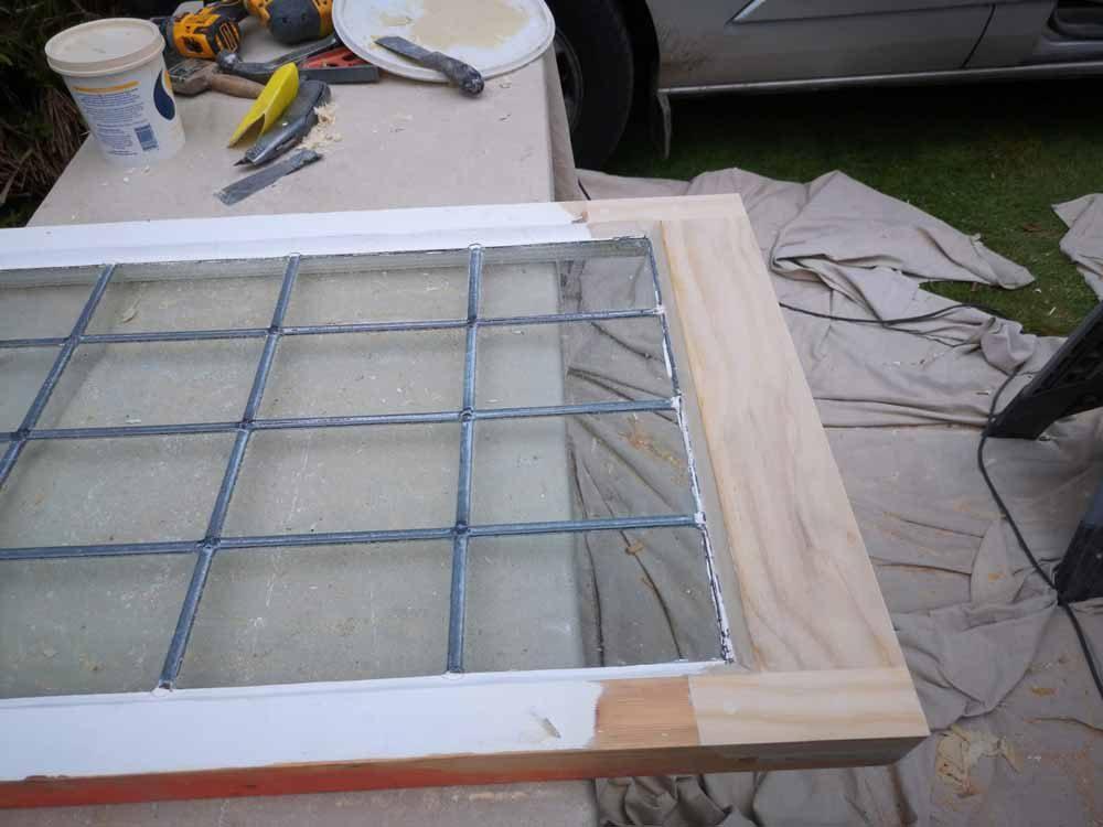 Leaded Window Refurbishment
