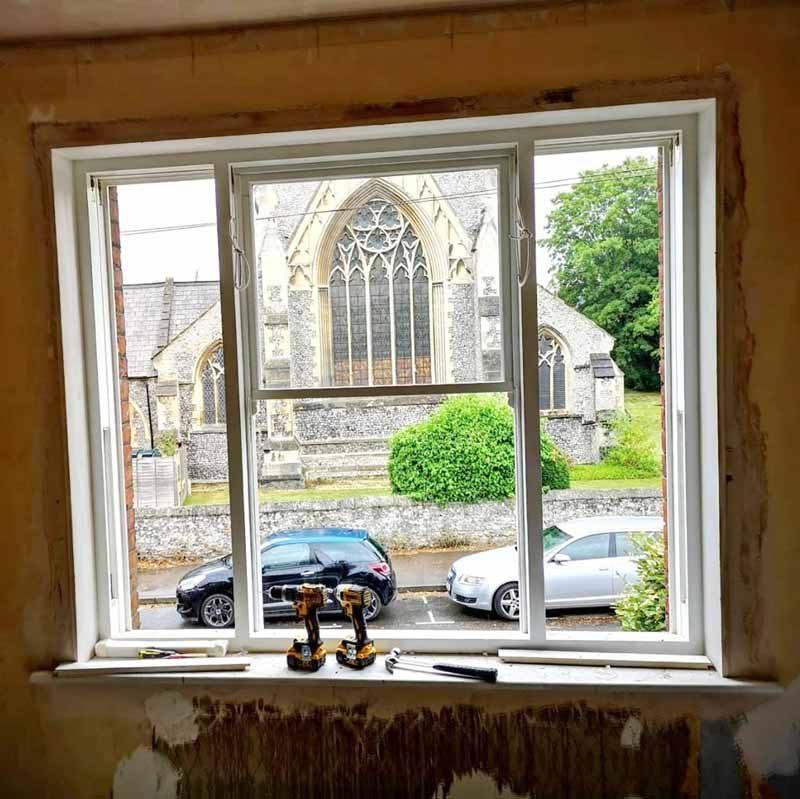 Windows in Winchester